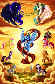 the Apotheosis of Rainbow Dash by Whitestar1802