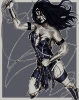 Black Lantern Wonder Woman by RoksiL