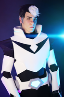 Shiro Cosplay II ~ VOLTRON Legendary Defender by Yamato-Leaphere
