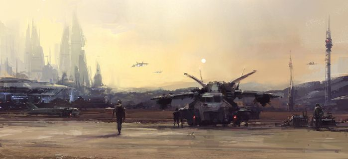 Airbase Speedpaint One by atomhawk