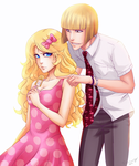 Commission: Marise and Shinji by DivineImmortality