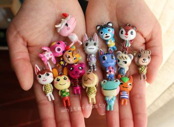 Animal Crossing - Villager Charms by whitefrosty