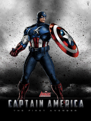 Captain America - Marvel Avengers Alliance poster by P-DB