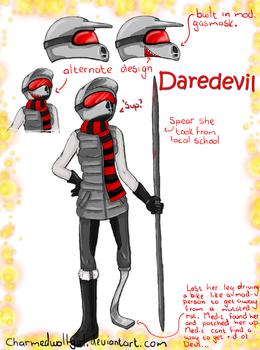 RA OC contest: Daredevil by Ch4rm3d