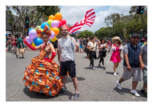 Four Dresses At LA Pride 1 of 4 by makepictures