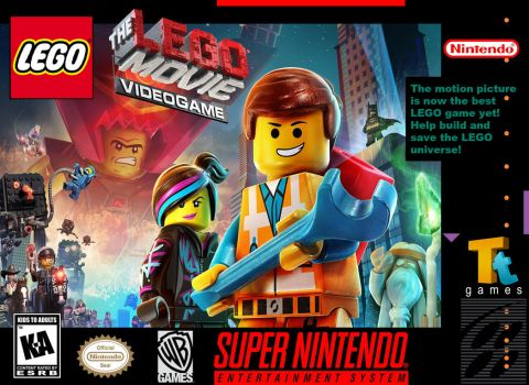 LEGO The Lego Movie Video Game for Super Nintendo by GreenMachine987