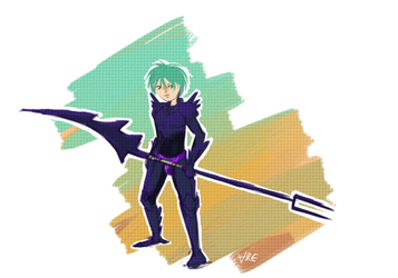 Ephraim the dragoon by ToadsDontExist