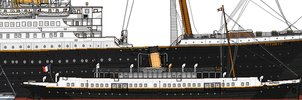 RMS Titanic: Sizes compared. by alotef