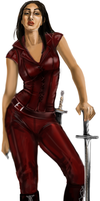 Lady Tiandraa of the Red Hand by LadyMerrethsAuthor