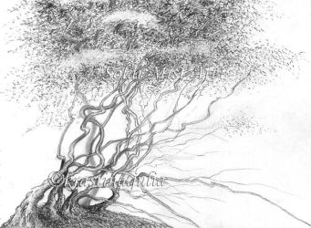 Mystic Tree 09 by Blue-Whale-Song