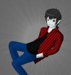 Marshall Lee by SecretAgentSch
