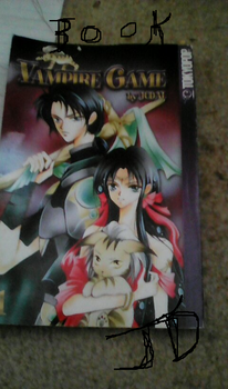 diffsent book of other story anime name Vampire Ga by BlackDragonRaven