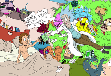 Rick and Morty Foreverish by mjwills