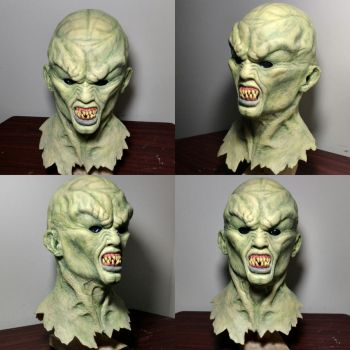 Hammond sculpture studio's Haunted mask replica by grave-ressurection