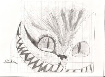 The Cheshire Cat by Kintow