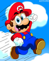 SM - The Jump of Super Mario by LuigiStar445