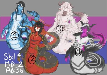 (CLOSED,TY) AUCTION Nagas batch 05 (0/4) by Deadclub