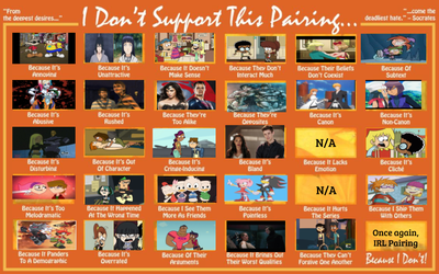 Ships That I Don't Support V3 by XTheDarkStrikersX78