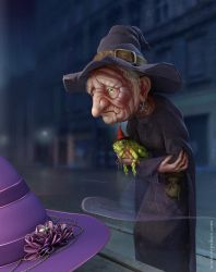 Old hag by veprikov