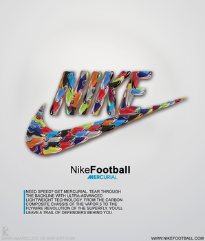 Nike Mercurial by Amarelle07