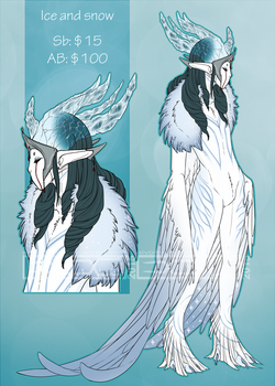 Haroth auction: Ice and Snow [closed] by Aivomata