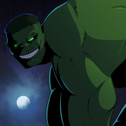 Day 8: The Immortal Hulk by Cadhla182