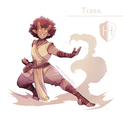 High Hopes Low Rolls: Terra [SPEEDPAINT] by ABD-illustrates