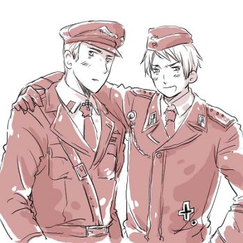 Germany, Prussia in uniforms by desadevil