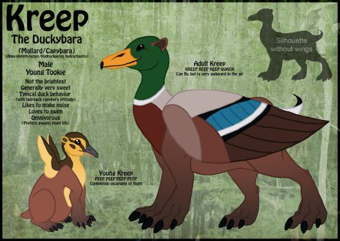 Kreep Character Reference by khyterra