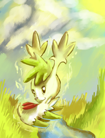 Shaymin used Synthesis by salanchu