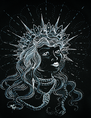 Our Lady of Horror Haikuesday by JAndromeda