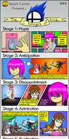 Spark Comic #95 - The 5 Stages of Amiibo by SuperSparkplug