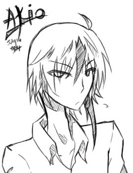 Akio - Random Sketch by aquamista
