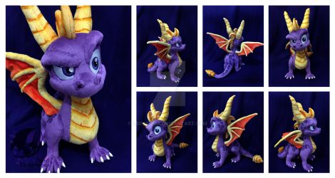 Spyro Custom Plush by Legadema