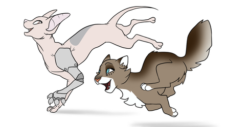 Running Free [Commission] by ChikkiArts
