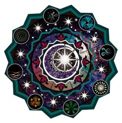 Cosmic Mandala Color by Cassiopeia-Dono