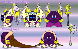 -NEW BIO!-Ref. Sheet: King Alfa-Thauro by Wolfwrathknight