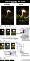 How To Improve A Bad Image by Photshopmaniac