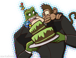 RaC - Qwark's Birthday by metalcervidae