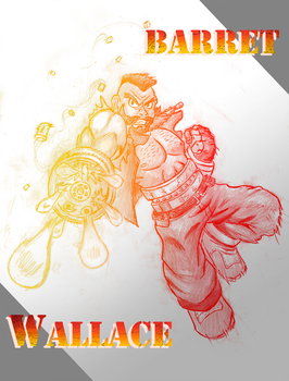 Barret Wallace by TioTonyRedgrave