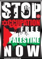 Free Palestine Now by kachakou