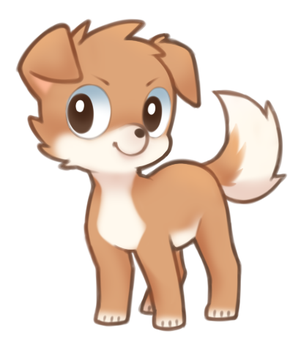 another random dog lol by drill-tail