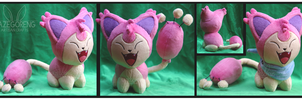 Skitty Custom Plush