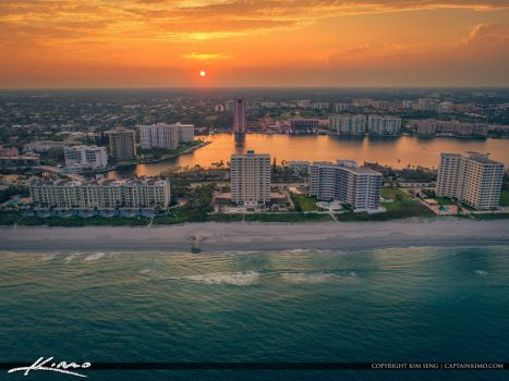 Oceanfront-Property-Sunset-Boca-Raton-Florida by CaptainKimo