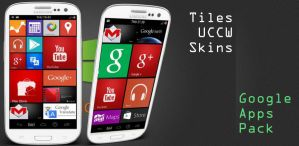 Tiles Google Apps UCCW Skin by bagarwa