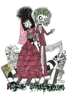Beetlejuice and Lydai-I do?! by Little-Horrorz