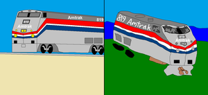 Amtrak 819 by ShotgunDude