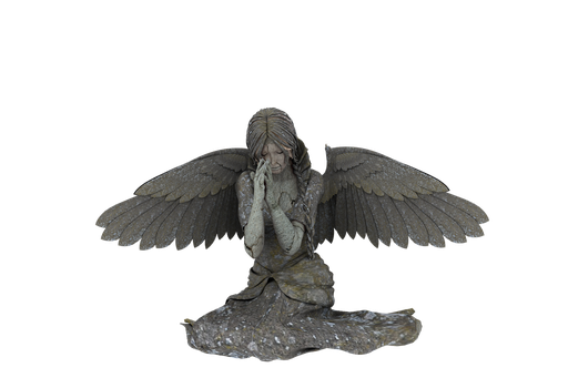 Angel Statue PNG 02 by neverFading-stock