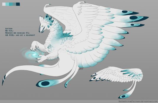 Arctic Dragon AUCTION [closed] by InterfectorFactory