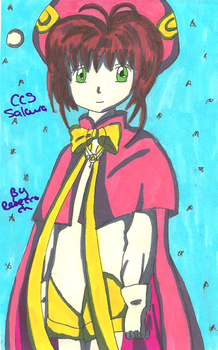 CCS Sakura master of the Clow Cards by quaser-gaara